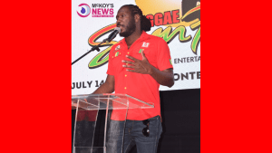 Page 3: Skatta Burrell at the 2019 Reggae Sumfest Press Launch