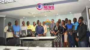 Media Personnel Awarded by St James Municipal Corporation