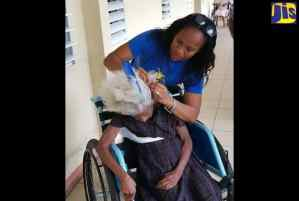 Residents of St. Thomas Infirmary Receive Special Treat