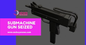Sub-machine Gun Seized in St Elizabeth