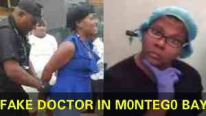 THE MOST DEADLIEST DOCTOR IN JAMAICA CAPTURED BY POLICE IN MONTEGO BAY