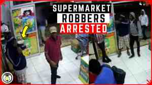 Three Held for MoBay Robbery Caught on Camera