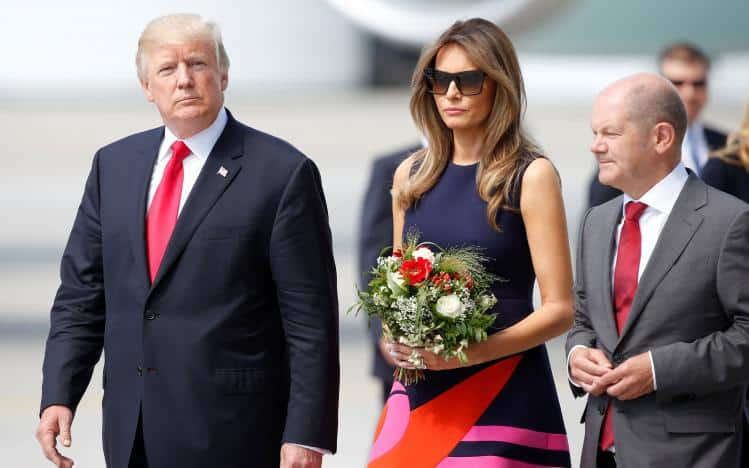 Trump's G20 Summit Arrival