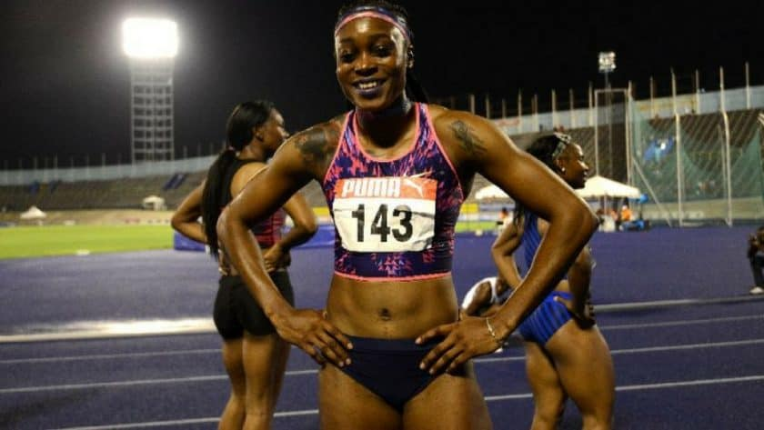 Thompson, Blake Win 100m at Jamaican Athletics Championships: (AFP) - Elaine Thompson lowered her world-leading time in the 100 meters at the Jamaican Track and Field Championships Friday, while former world champ Yohan Blake roared to his fastest time in five