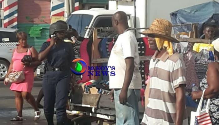 Cart Vendor Stabs Man