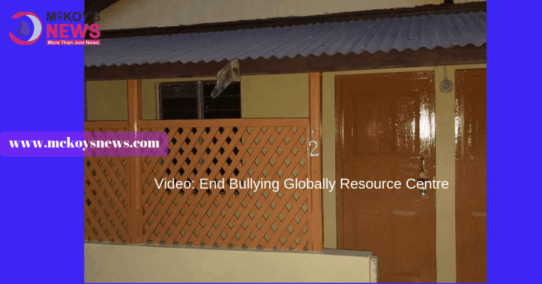 Video: End Bullying Globally Resource Centre