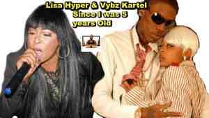 Vybz Kartel and Lisa hyper more than friends for life