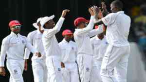 West Indies in control of second test against Bangladesh at Sabina park