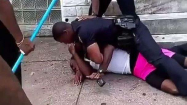 Police Officer Suspended after 'Disturbing' Video Shows him Repeatedly Punching Citizen
