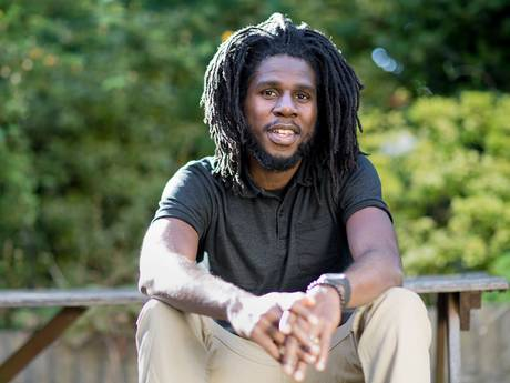 "Chronixx Tell Jah Cure "" Rasta Nah Gwan Suh"""