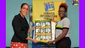 JIS Donates Educational Material to Mount Olive Youth Club