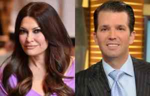 'A very happy 4th of July': Donald Trump Jr. brings Kimberly Guilfoyle to the White House