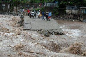 Flood Warning Issued, Avoid Flood Prone Areas