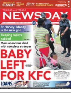 Baby Abandoned for KFC