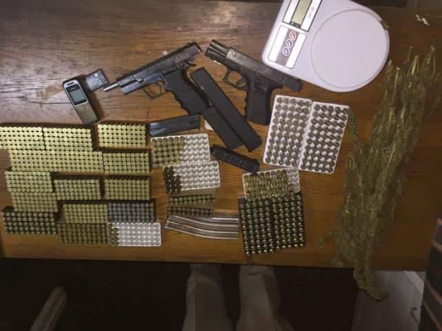 Police Seize Massive Ammunition