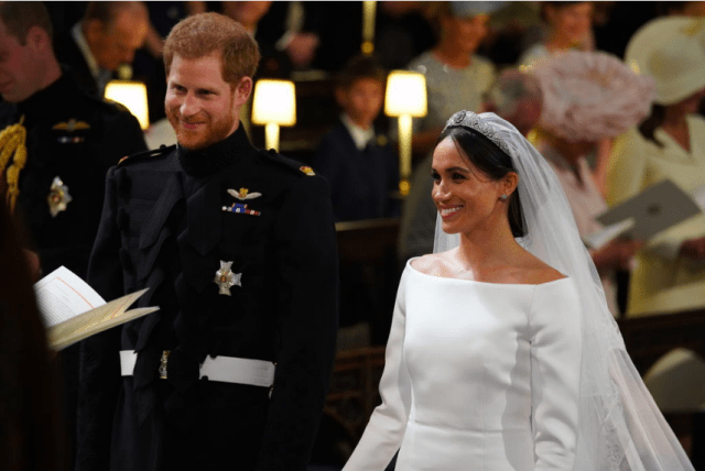 Prince Harry And Meghan Markle Are Officially Married