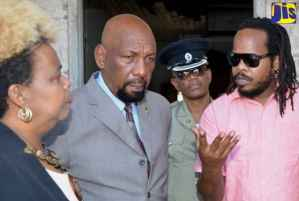 National Security State Minister Tours Tower Street Correctional Facility