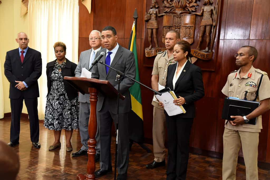 the Most Hon. Andrew Holness