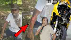 Busy Signal Serious Bike Accident | Daddy 1 Hit Million | Puckey Enjoy Life