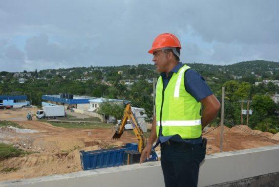 Dr. Tufton Satisfied with Progress of Cornwall Regional Hospital Rehabilitation