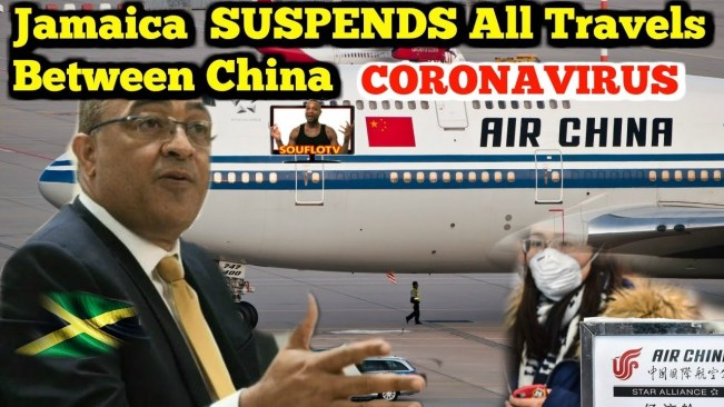 Jamaican Citizens told to STAY in China during travel suspension?