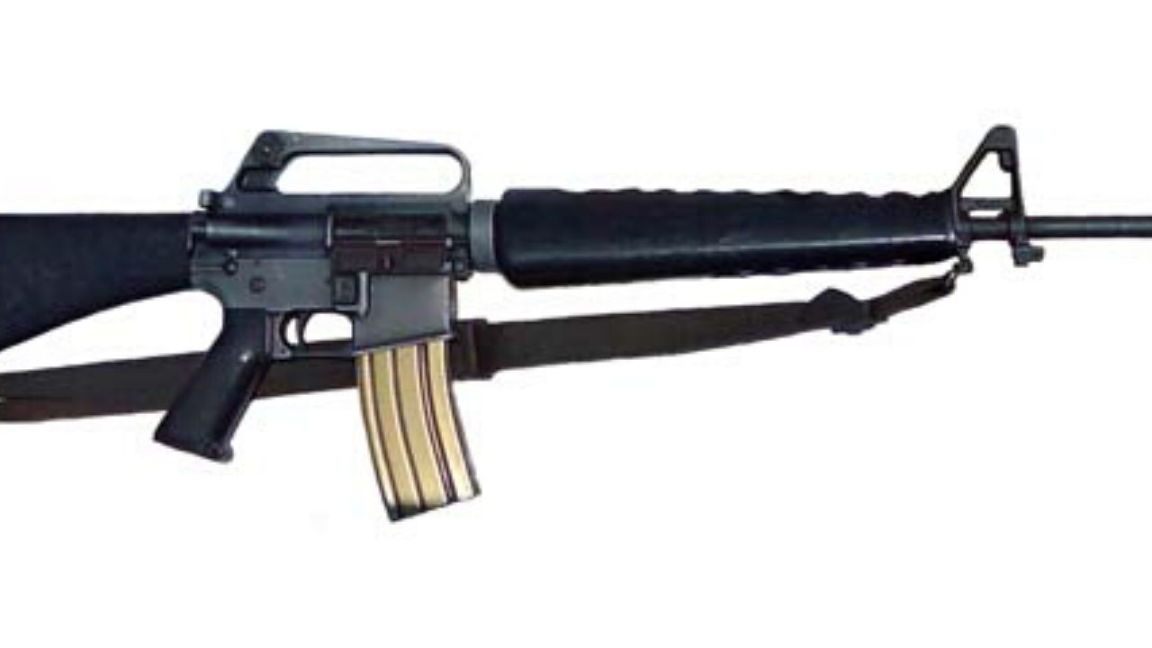 Officers Seized An Illegal M-16 Assault Rifle On Mountain View Avenue