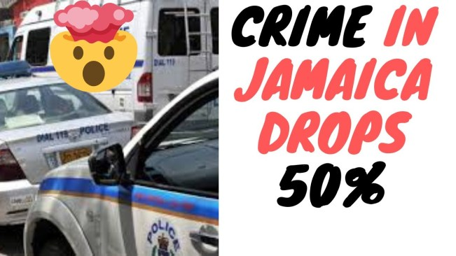 Major Crimes In Jamaica Drop 50% Last Decade