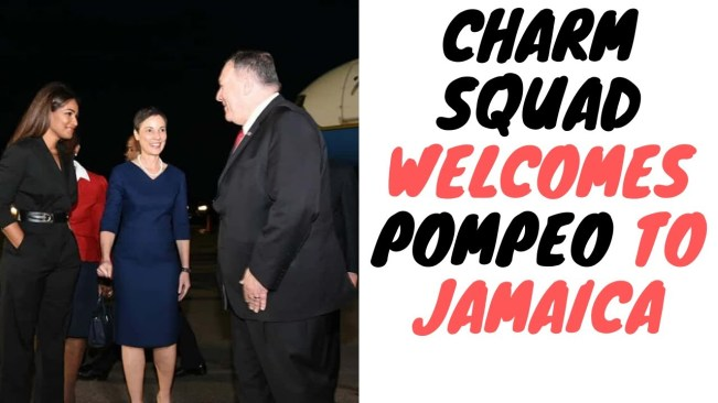 """Mike Pompeo Warns Jamaica About Taking """"Easy Money"""" From China And What It Could Lead To"""
