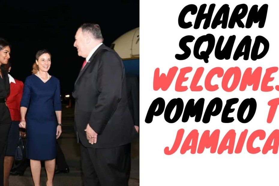 "Mike Pompeo Warns Jamaica About Taking ""Easy Money"" From China And What It Could Lead To"