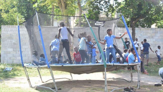 Mobay Jerkfest promoters treat school children