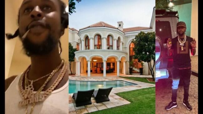Popcaan Tour Of His $5.5m Dollar House He Just Bought In Ghana Africa