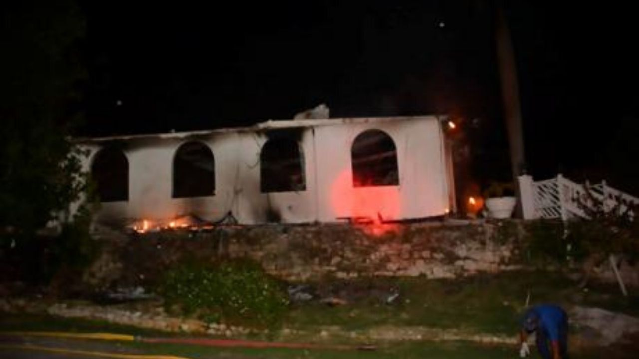 GONE FOREVER - Richmond Hill Inn Owners Say Historic MoBay Great House Won't Rise From Ashes