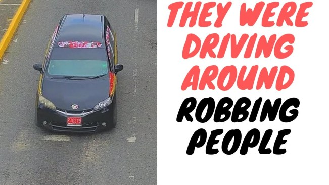 The Taxi That Hit Police Was Full Of Criminals Who Frequently Rob People Around Town
