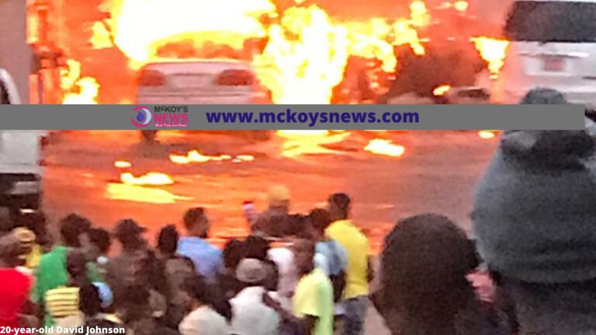 Photos: Several Persons Feared Injured in Gas Station Fire in Mandeville