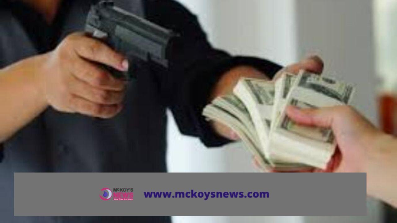 Robbery - Mckoy's News