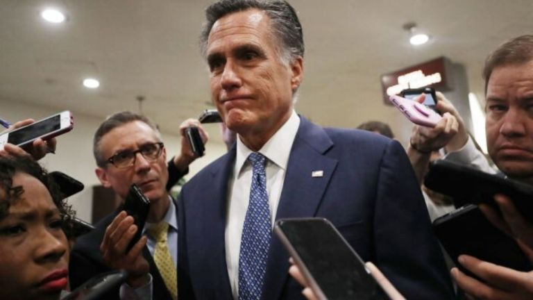 Romney breaks with party, will vote to convict Trump