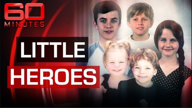 The five courageous child heroes that saved their mum's life