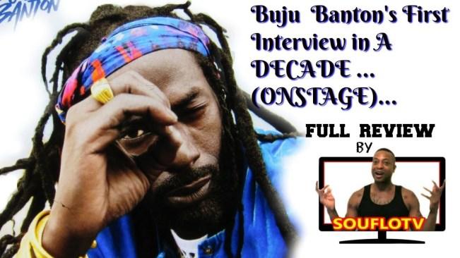 Buju Banton sets the record straight Onstage