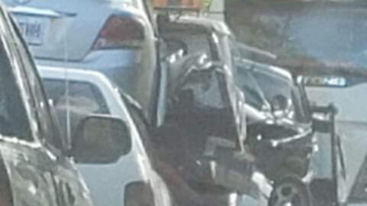 Accident Eye- Crash on Top Road