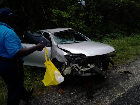 Four accidents in Hanover on Tuesday