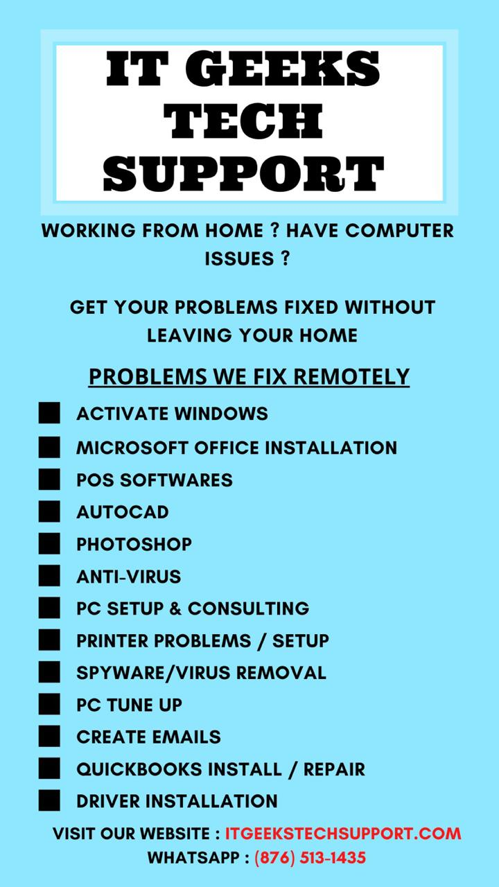 It Geeks Tech Support