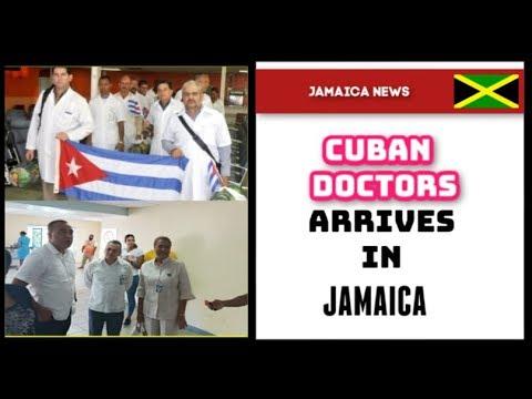 Over 100 Cuban Nurses & Doctors arrives in Jamaica