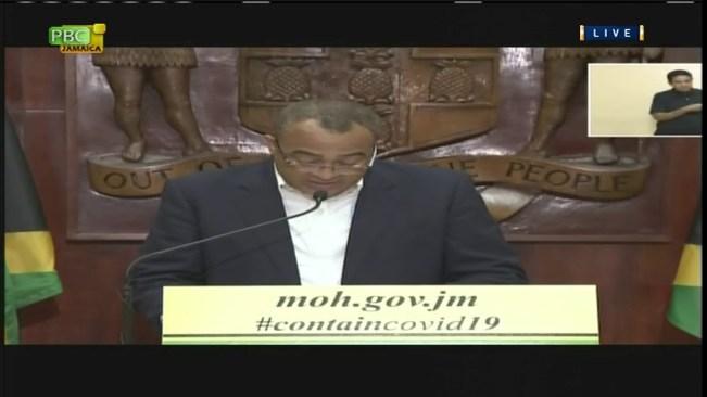 Jamaica's Coronavirus Task Force Update – March 27, 2020