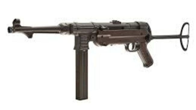 MPS Sub-Machine Gun Found