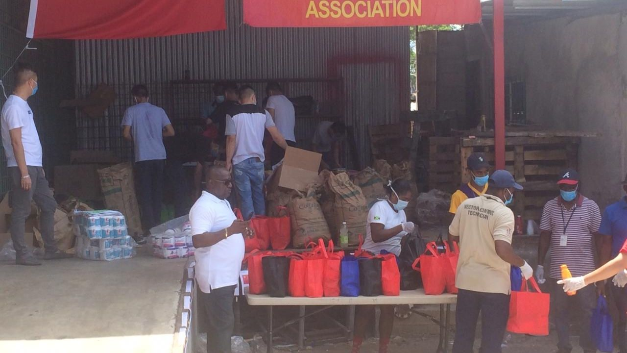 Jamaica Guandong Association Give Back to the Community i Montego Bay
