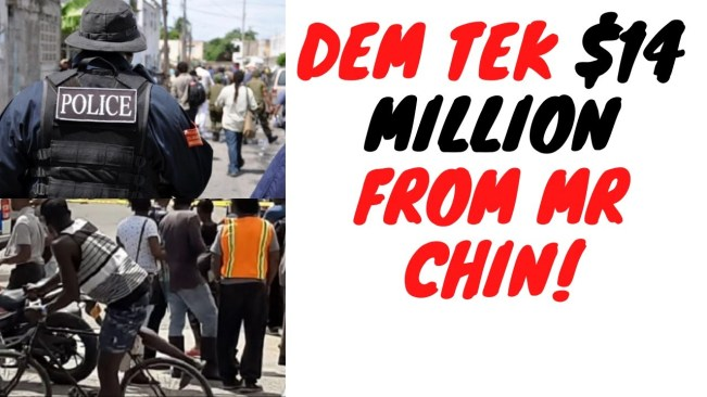 Another Chinese Businessman Gets Robbed While Moving Around With $14 Million Cash In Trelawny