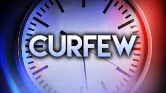 Curfews eased but continue