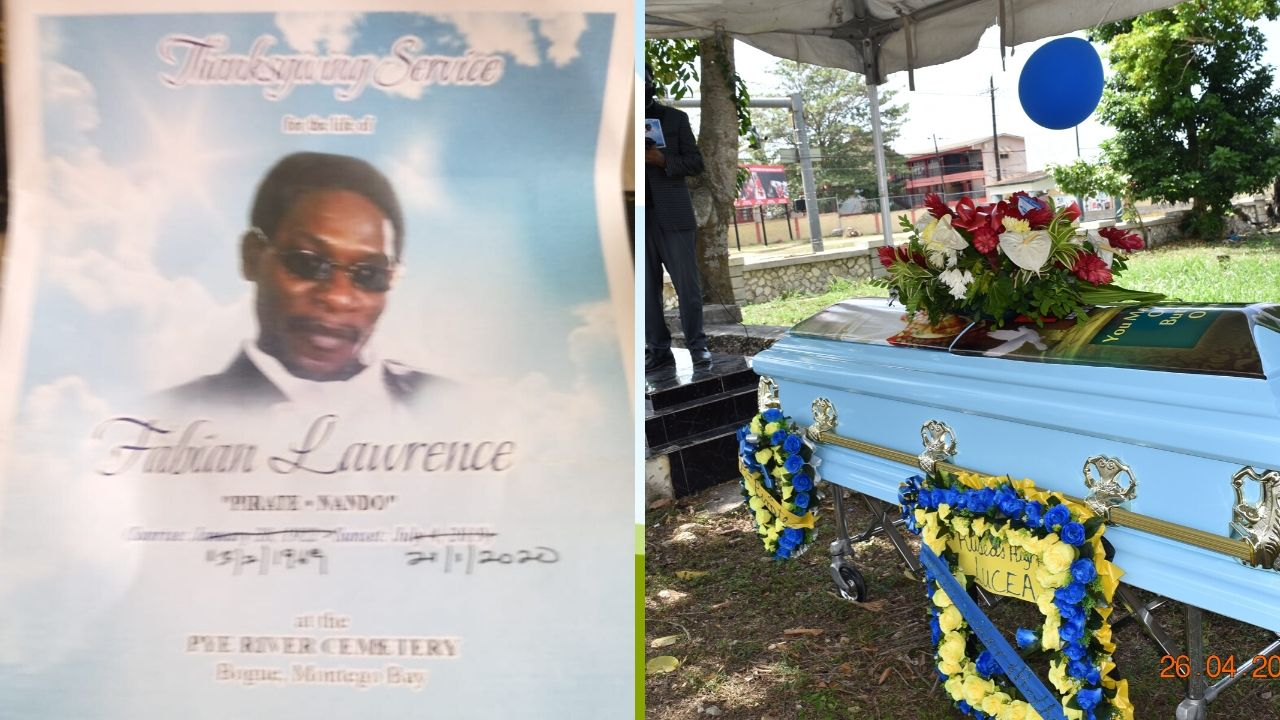 Fabian 'Pirate' Lawrence laid to rest