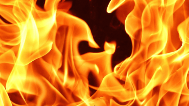 Fireman's Child Dies in Fire, Dad Injured