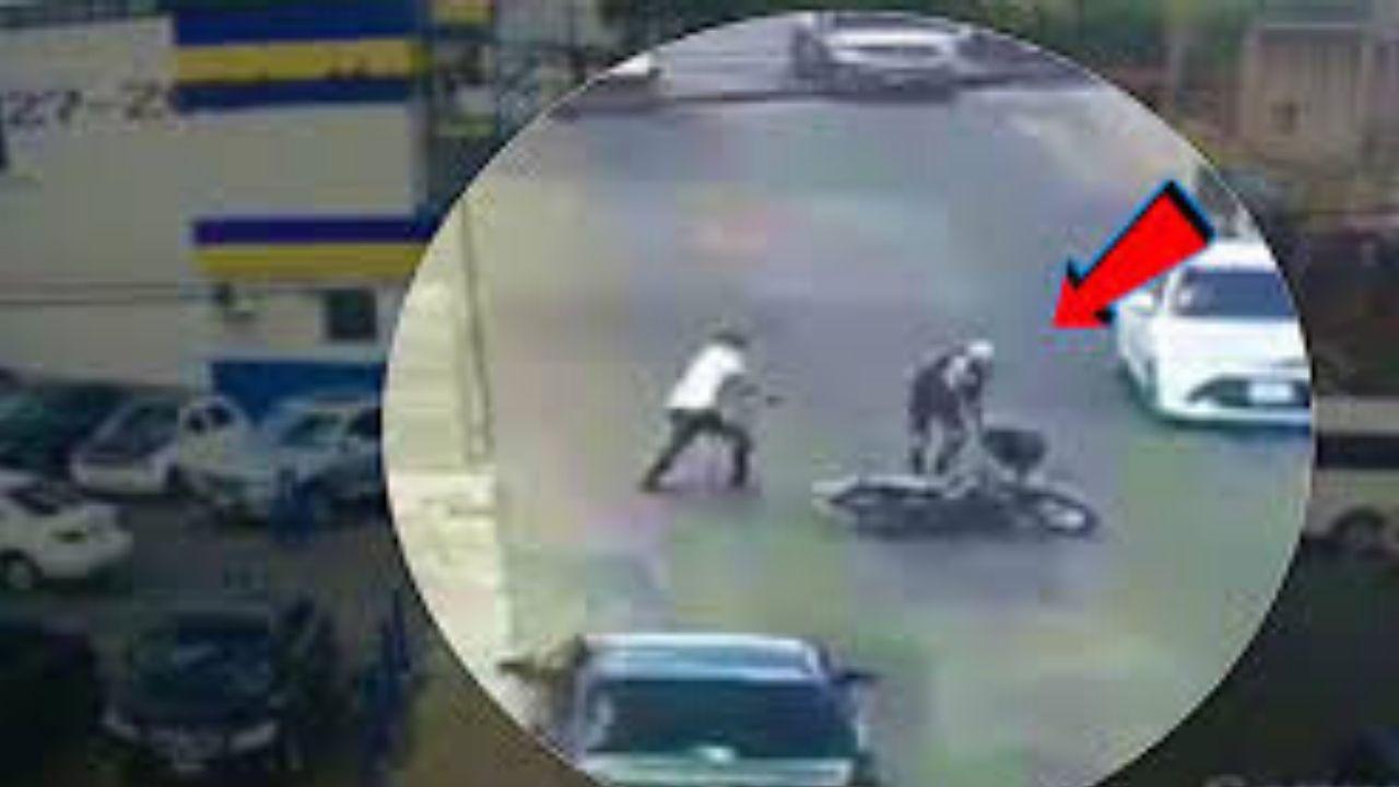 Man Robbed of $2 Million – Robber run leave Bike
